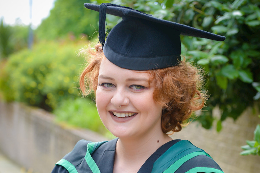Ulster University's Megan Boyd hailed as medical miracle