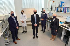 Economy Minister Launches Expanded, World Class Biomedical Sciences Facility at Ulster University Coleraine