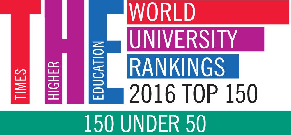 Times Higher Education 150 Under 50 Rankings 2016 results