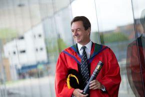 Honorary Graduate Dr John Irvine