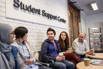 International students - Jordanstown