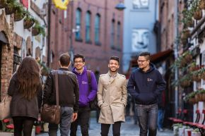 International students - Belfast