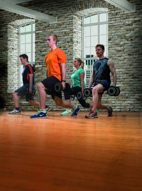 Fitness class gym