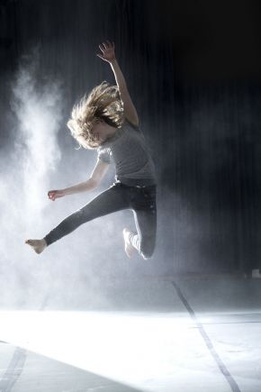 Contemporary dance by 'BA Hons Dance' students