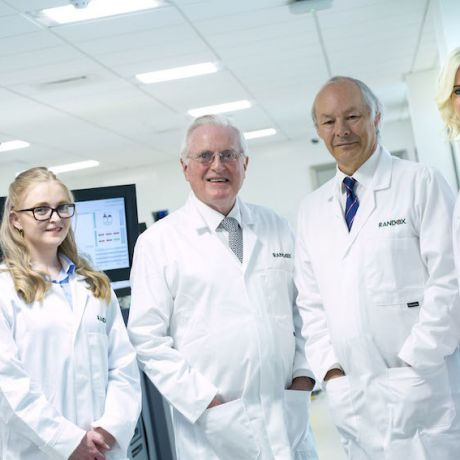 Ulster University and Randox to invest £5m in a new Industrial PhD Academy