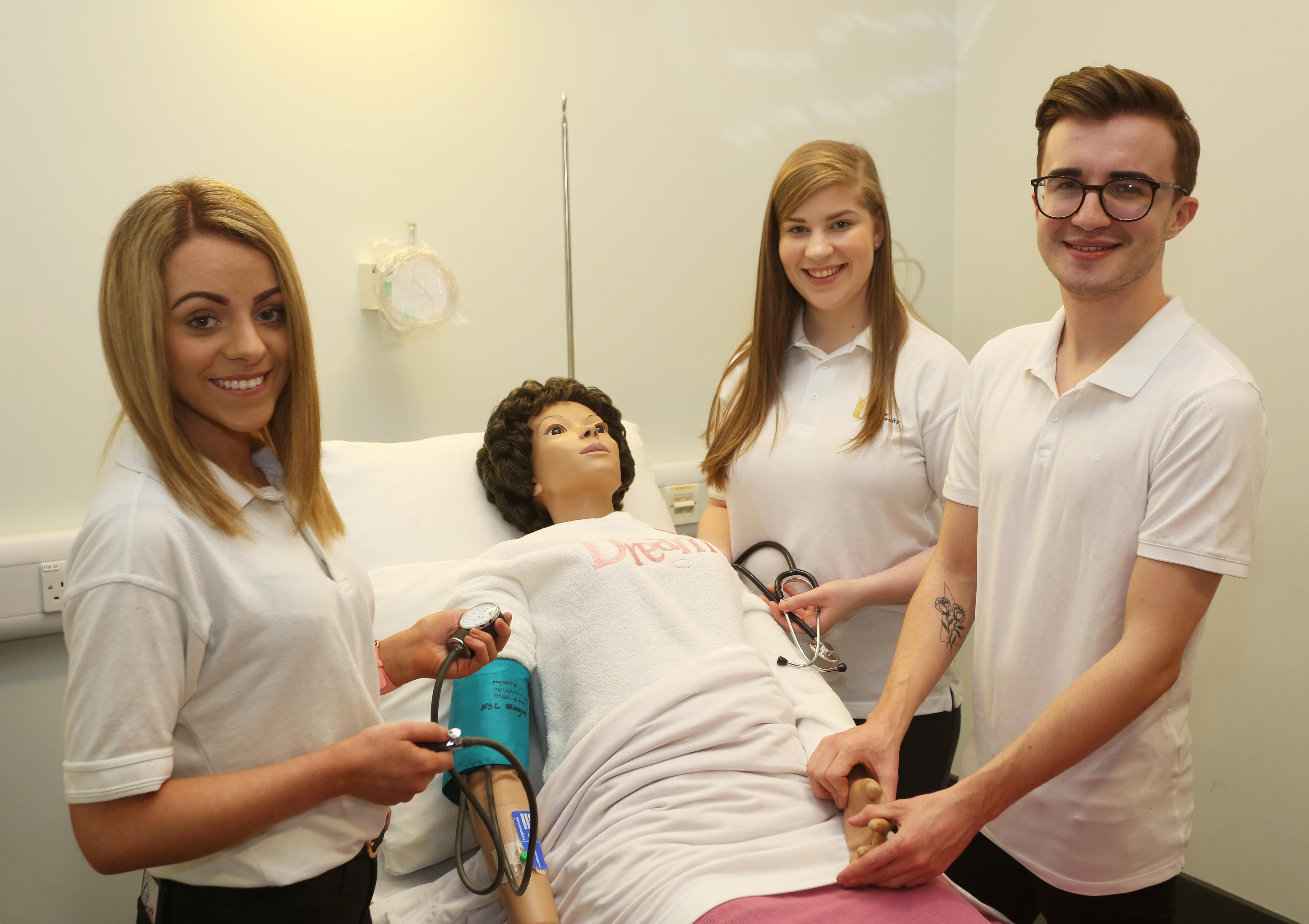 Ulster University research providing dramatic solutions to health care problems