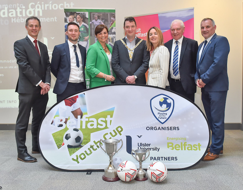 Belfast Youth Cup 2019 Launches at Ulster University