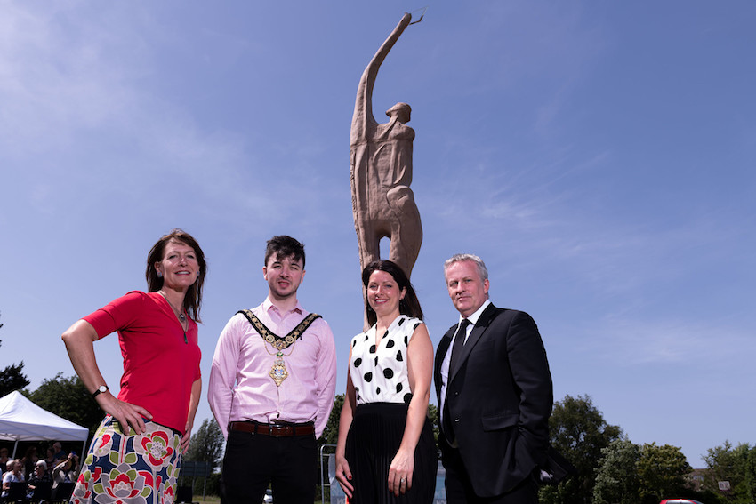 Ulster University unveils 'Towards Tomorrow'- a public art project to mark its 50th anniversary in Coleraine image