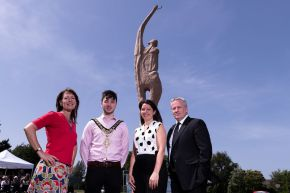 Ulster University unveils 'Towards Tomorrow'- a public art project to mark its 50th anniversary in Coleraine
