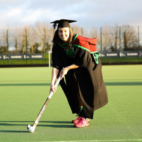 Hockey star graduates with Masters in Biomedical Engineering