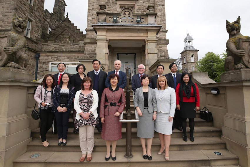 Ulster University signs partnership agreement with Hubei Normal University