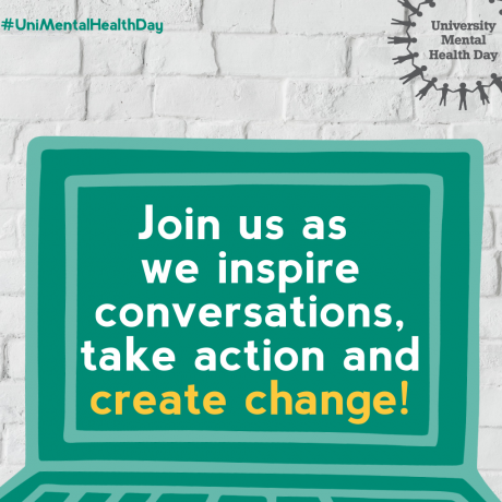 University Mental Health Day celebrated online - 4th March 2021
