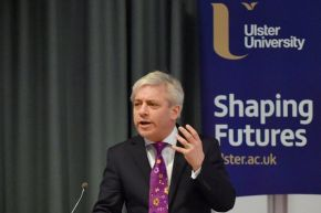 Ulster University welcomes House of Commons Speaker