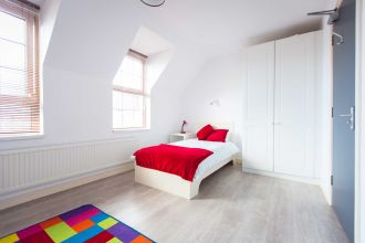 Bedroom in Agherton Village (2-6 bed flats)