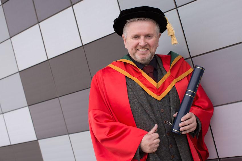 Honorary Graduate Fr Gary Donegan