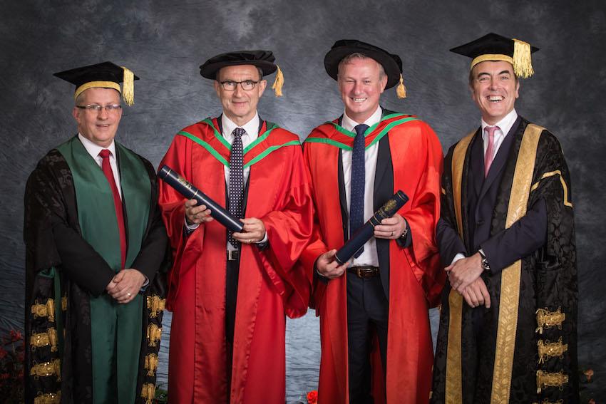 Honorary Graduates, Dr Martin O'Neill and Dr Michael O'Neill