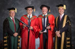 Honorary Graduates, Dr Martin O'Neill and Dr Michael O'Neill