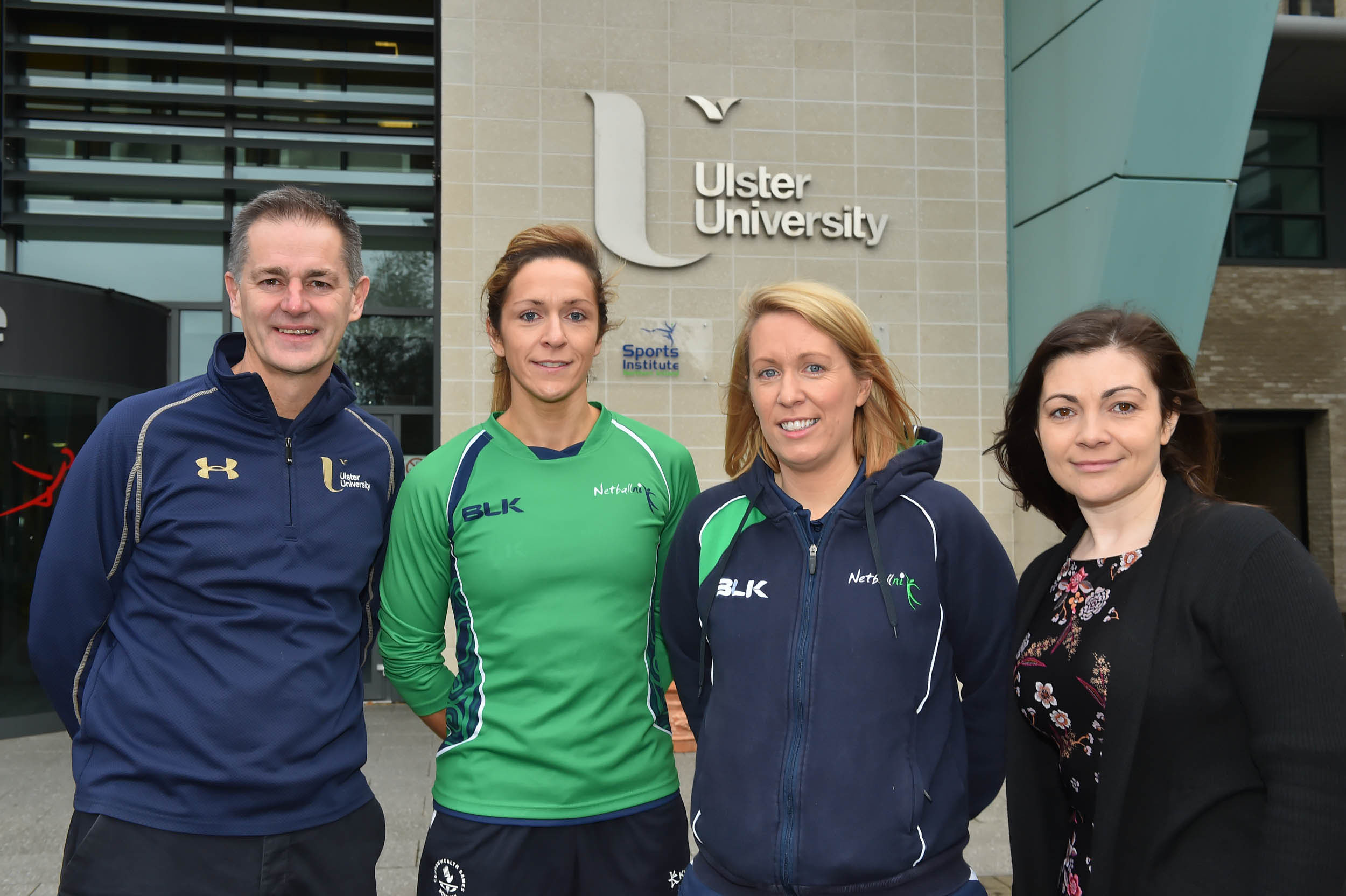 Ulster University partners with Netball Northern Ireland as they go for gold