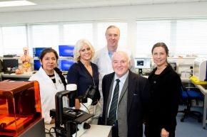 £190k investment in skin cancer research for Ulster University from leading business man (in memory of son)