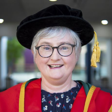 Elaine celebrates graduating with PhD from Ulster University