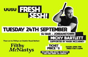 UUSU - Fresh Sesh - Belfast and Jordanstown