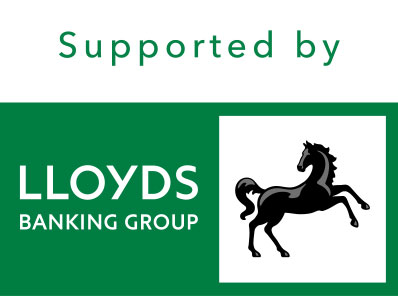 Supported by Lloyds Banking Group