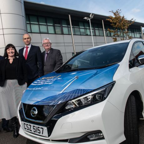 Ulster University researchers explore the potential of electric vehicles