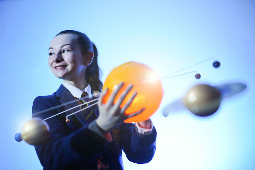 A cosmic voyage at Ulster University