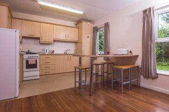 Kitchen/Lounge in en-suite apartments DSV