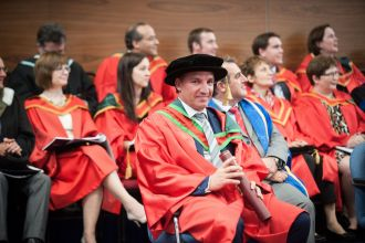 Brendan Rodgers receives honorary degree from the University of Ulster
