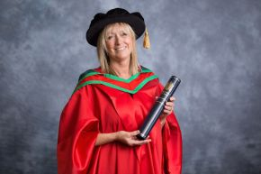 Honorary Graduate Dr Wendy Blundell OBE