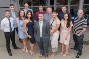 Ulster University Engineering Students Graduate