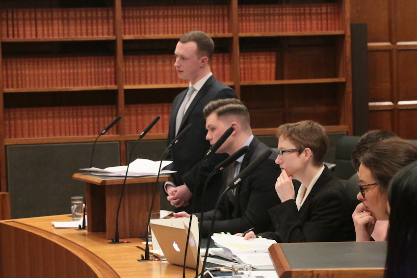 Ulster University Law students moot at the Supreme Court for first time