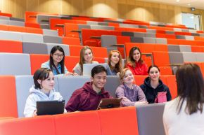 International students at Coleraine