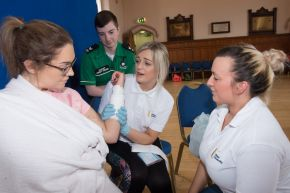 Ulster University nursing students lead on Community Resilience simulation