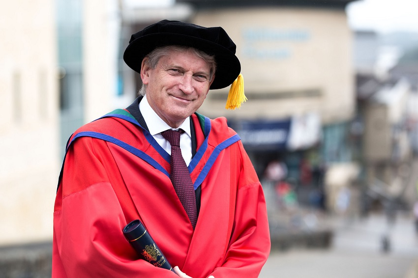 Ulster University honours internationally recognised Professor