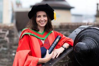 Ulster University awards honorary degree to Sarah Friar