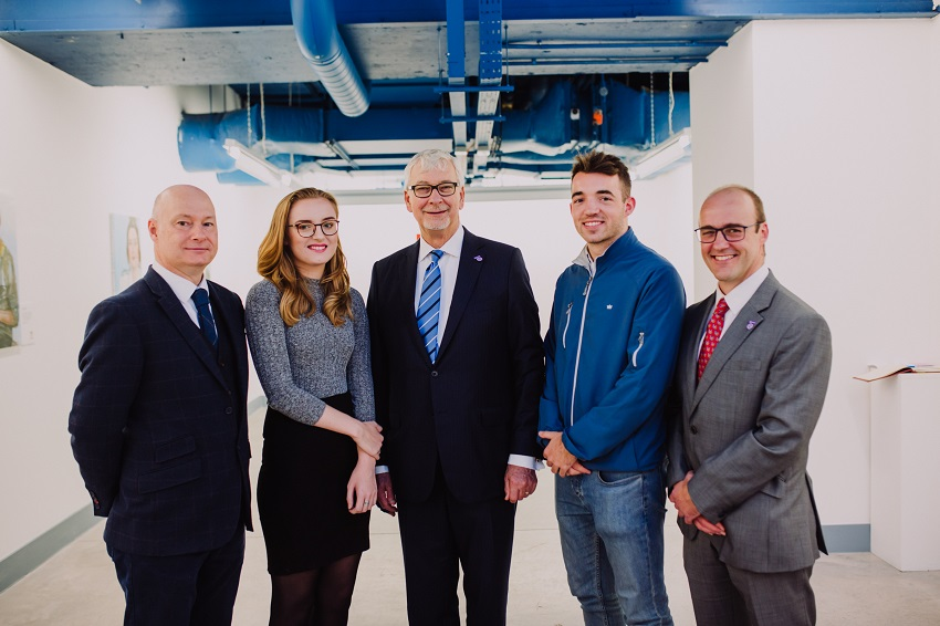 Ulster University launch Quantity Surveying Placement & Graduate Training Charter
