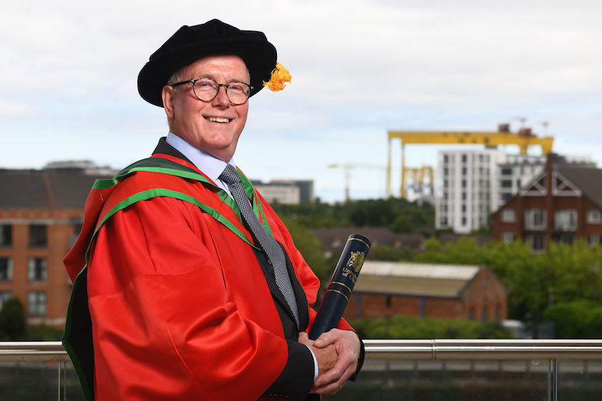 Inspiring principal recognised by Ulster University