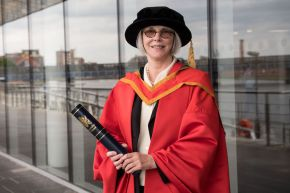Peace advocate Martha Pope honoured by Ulster University