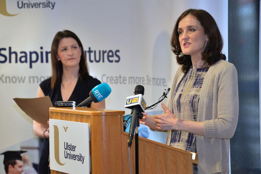 Northern Ireland Secretary of State visits Ulster University