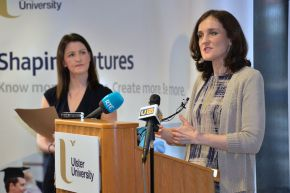 Northern Ireland Secretary of State visits Ulster University