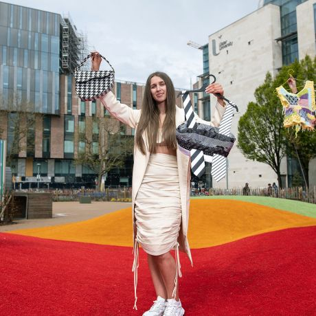 Ulster University students take on fast fashion