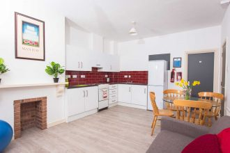 Kitchen/Lounge-Agherton Village (2-6 bed flats)