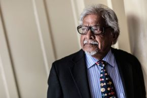 Ulster University welcomes Mahatmas Gandhi's grandson