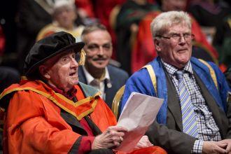 Honorary graduate - Ivan Cooper