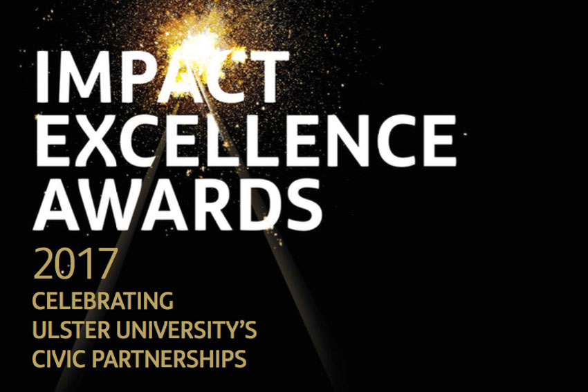 Leading organisations recognised at Ulster University's inaugural Impact Excellence Awards