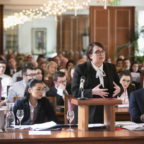 Ulster University law students present to fiveUK Supreme Courtjustices