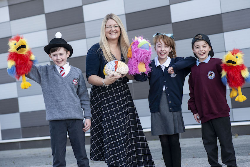 Ulster University helps primary school pupils to understand their emotions and build resilience on World Mental Health Day