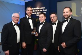 Ulster University honours top work placement employers